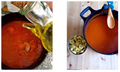 sopa tomate tortellini