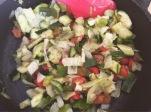hojaldre verduras bacon