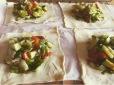 receta hojaldre verduras y bacon
