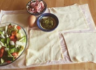 receta hojaldre verduras