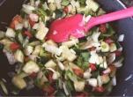 receta hojaldre y verduras
