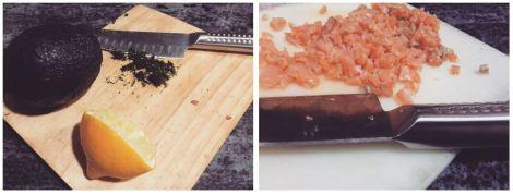 tartar salmon receta