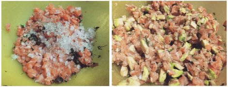 tartar salmon receta2