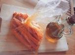hacer zanahorias fritas