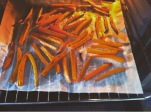 zanahorias fritas horno