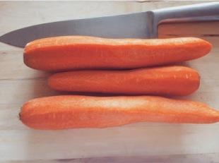 zanahorias fritas receta